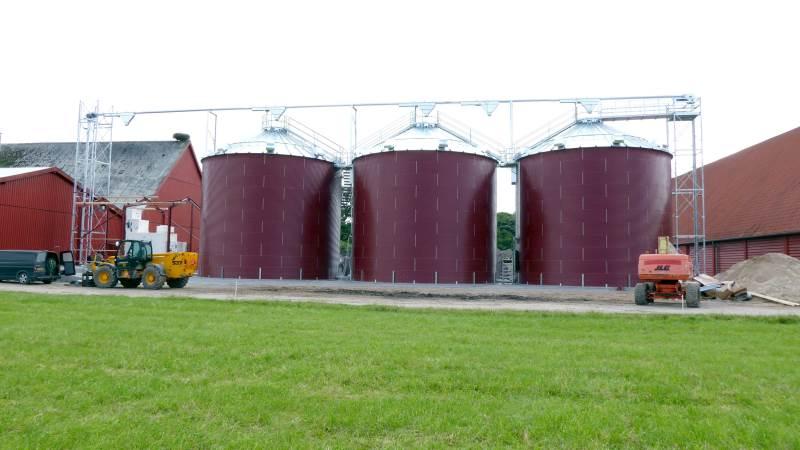 Amerikanerne har i mange år eksporteret grain pump loops til Europa. Søby i Højslev er første europæiske producent af systemet, som man har gjort sig umage for at forbedre.