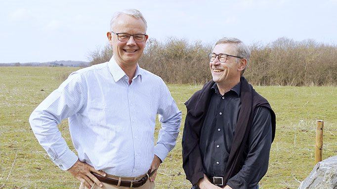 Andreas Hastrup (til venstre) og Jens Ravnsbæk Andersen: - Vi må altså til at forholde os til og respektere konkurrencemyndighedernes krav om et reelt frit marked for de 20 procent af mælkeproduktionen.