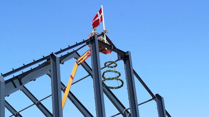 På »talerstolen« omtalte CEO Simon Rodian Christensen, Copenhagen Merchants, blandt andet havnen på Masnedø som »det helt rigtige sted for korneksport i stor stil«.