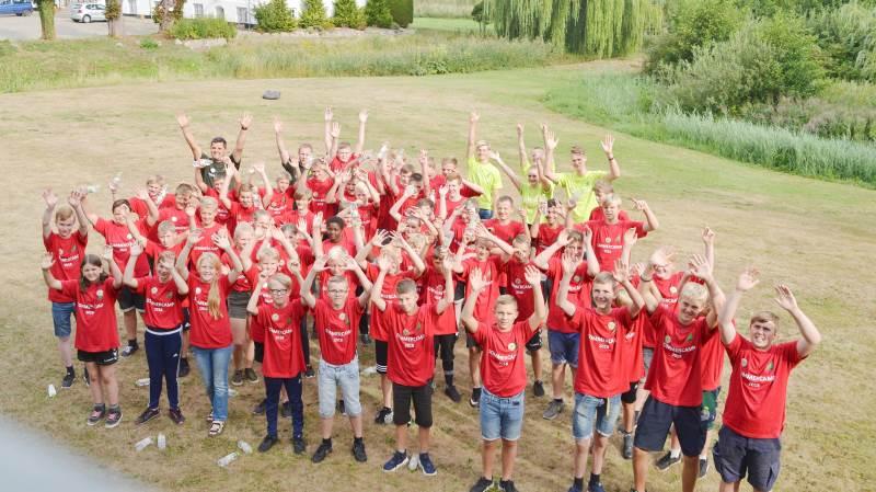 54 unge mennesker tilbragte tre dage på SommerCamp på Nordjyllands Landbrugsskole.