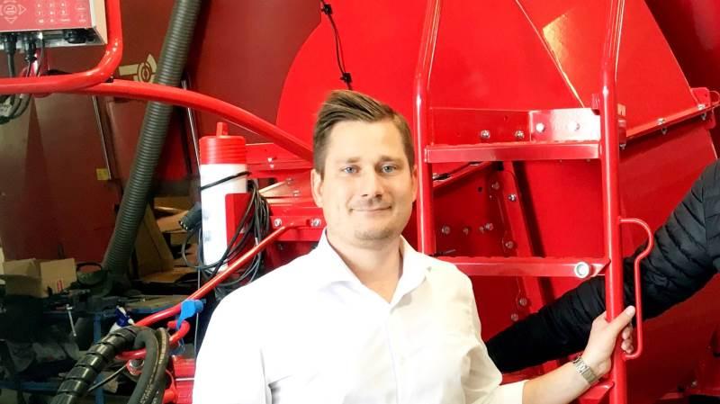 - Vi er naturligvis kede af, at vi fremadrettet ikke skal have McCormick-traktorer som samarbejdspartner. Det har været et velfungerende samarbejde, som vi har været glade for, fortæller adm. direktør Troels Stausholm Jensen, Stenderup A/S.