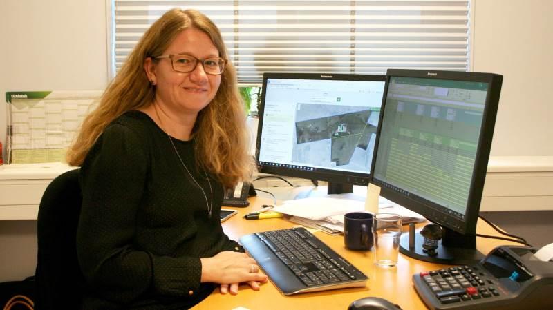 Christine Søgård Bøhm: - Det er nu ved at være sidste udkald i forhold til rettidigt at få ændret sin BBR-registrering. Foto: Henrik Lambrecht