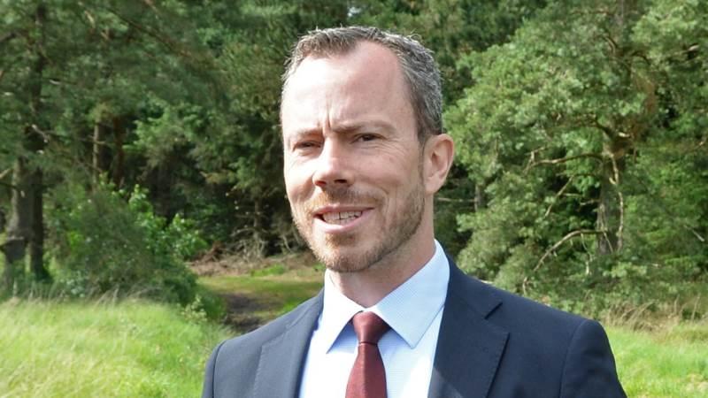 Søndag tager miljø- og fødevareminister Jakob Ellemann-Jensen(V) på skovtur nær Næstved. Her skal han navngive et nyt skovareal. Arkivfoto.