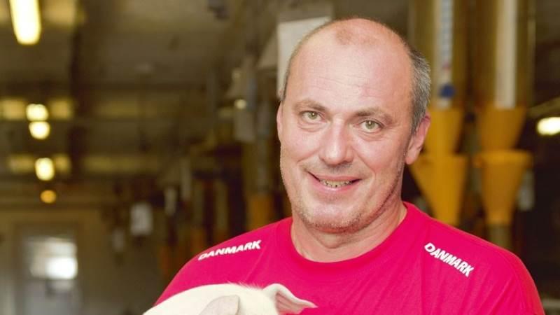 Svineproducent Ulrik Krogsgaard, Vindblæs ved Løgstør, er opstillet til Seges' fagudvalg for Økonomi og Virksomhedsledelse. Bag ham står samtlige landboforeninger i Nordjylland.