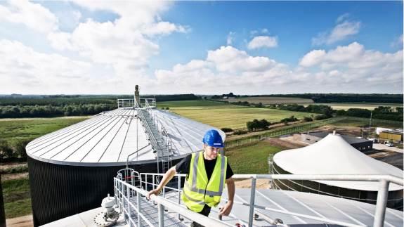 Sønderjysk Biogas, der ligger i Vojens, producerede 1,7 mio. m3 opgraderet biogas i maj svarende til årsforbruget for 92 gasbusser.
