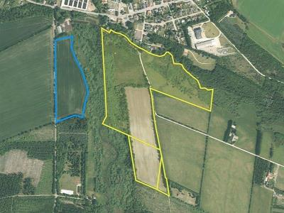 22 ha. landbrugsjord/natur