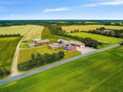 Fritids-/hobbylandbrug med 42,88 ha