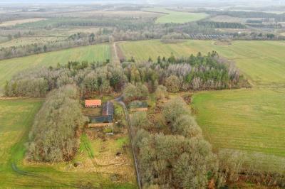 Natur-/planteavslejendom med 45,8 ha