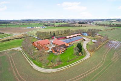 Erhvervs- og landbrugsejendom med 38 hektar ved Ravnstrup.
