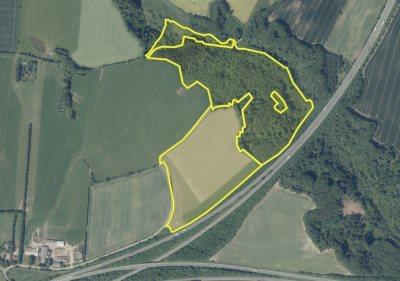 22,5 ha Landbrug med skov