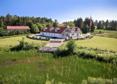 Pragtfuld liebhaverejendom i skøn natur mellem Aalborg og Hadsund